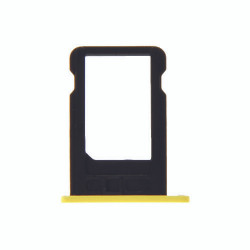 For iPhone 5C Sim Tray (YELLOW)