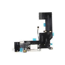 For iPhone 5/SE Charging Port Flex Cable (WHITE) (Premium)