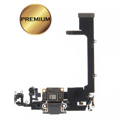 For iPhone 11 Pro Charging Port Flex Cable (SILVER) (Premium)