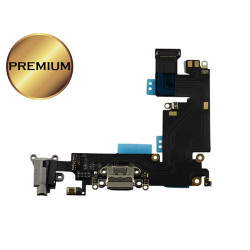 For iPhone 6 Plus Charging Port Flex Cable (BLACK) (Premium)