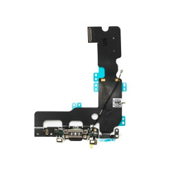For  iPhone 7 Plus Charging Port Flex Cable (black) -OEM