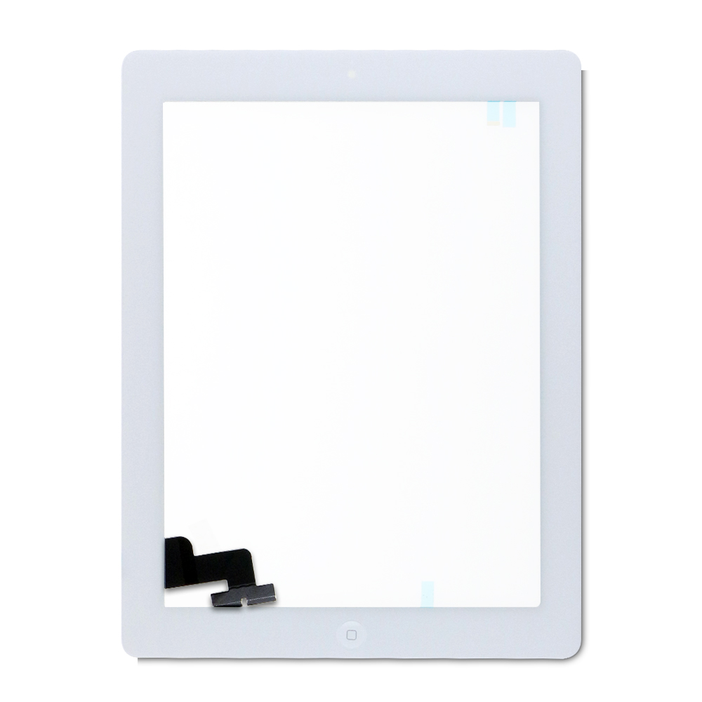 Digitizer with Home Button For iPad 2 (white)