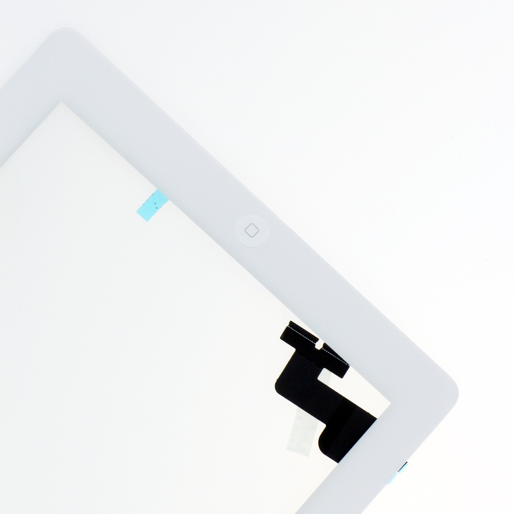 Touch Screen Assembly With Home Button For IPad 2 White
