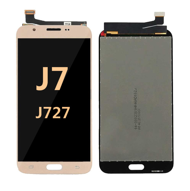 Samsung Galaxy J7 Prime J727 2017 Screen Replacement LCD and Digitizer - gold
