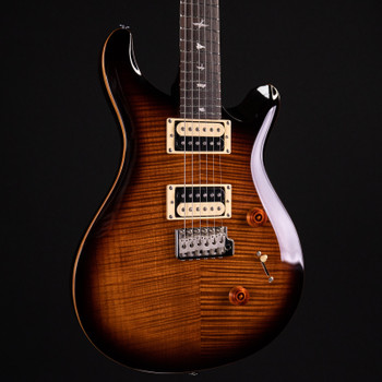 PRS SE Custom 24 - Black Gold Burst