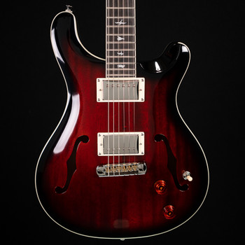 PRS SE Hollowbody Standard - Fire Red Burst
