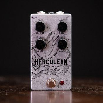 Mythos Pedals Herculean V2 Overdrive - New Graphics!