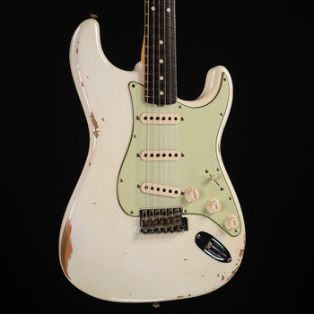 Fender Custom Shop 1963 Stratocaster Relic - Olympic White