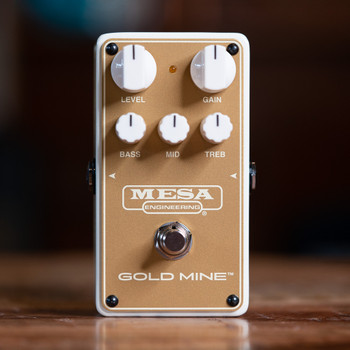 Mesa/Boogie Gold Mine Overdrive Pedal