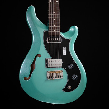 PRS S2 Vela Semi-Hollow Custom Color - Metallic Seafoam Green