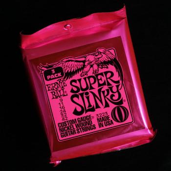 Ernie Ball Super Slinky 9-42 - 3 Pack