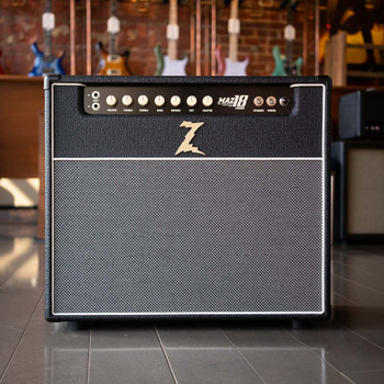 Dr. Z Maz 18 Jr. MKII 1x12LT - Black/Salt & Pepper