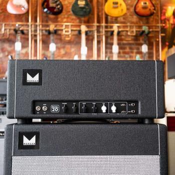 Morgan Dual 20 20-Watt Head - Black