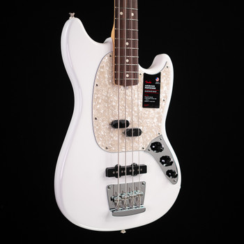 Fender American Performer Mustang Bass - Arctic White