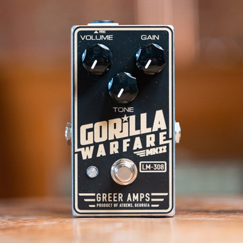 Greer Gorilla Warfare MKII LM-308 Distortion Pedal