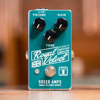 Greer Royal Velvet Class-A British Overdrive/Preamp