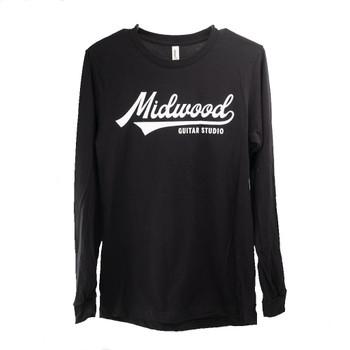 MGS Baseball Logo Long Sleeve - Black