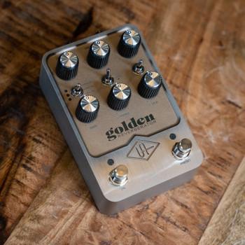 Universal Audio Golden Reverberator Reverb Pedal - In Stock!