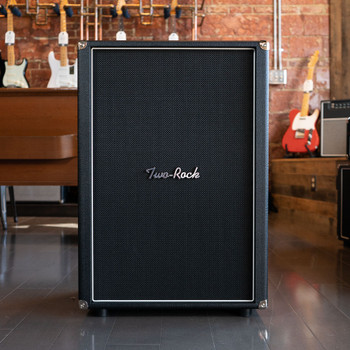 Two-Rock 2x12 Vertical Speaker Cab - Black Bronco - Pre-Order