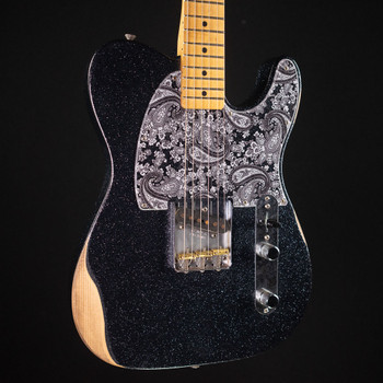 Fender Brad Paisley Road Worn Esquire - Black Sparkle