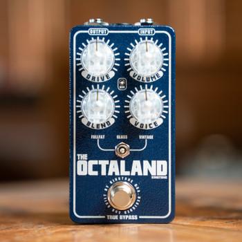 King Tone Guitar Octaland Mini - Blue Sparkle