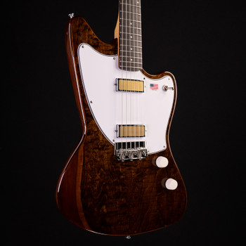 Harmony Silhouette Limited Edition Flamed Maple - Transparent Brown w/ Mono Vertigo