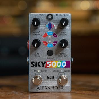 Alexander Pedals Sky 5000 Delay/Reverb Pedal