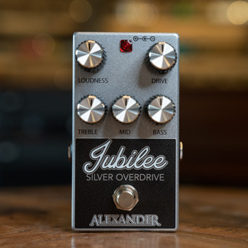 Alexander Pedals Jubilee Silver Overdrive Pedal