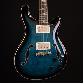 PRS SE Hollowbody II Piezo - Peacock Blue Burst #3092