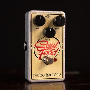 Electro-Harmonix Soul Food Transparent Overdrive Pedal