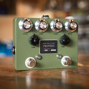 Browne Amplification Protein Dual Overdrive Pedal - Green