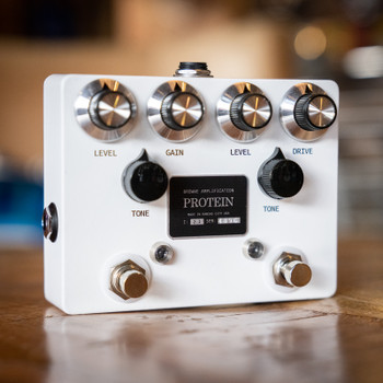 Browne Amplification Protein Dual Overdrive Pedal - White