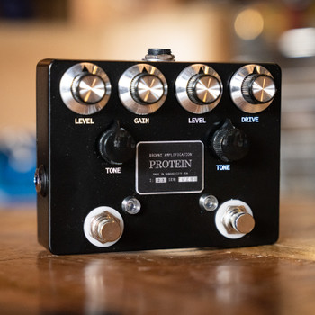 Browne Amplification Protein Dual Overdrive Pedal - Black