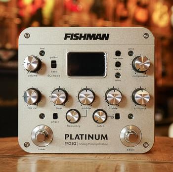 Fishman Platinum Pro EQ Analog Preamp/DI