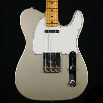 Fender Custom Shop 2018 Postmodern Telecaster Journeyman Relic - Aged Inca Silver