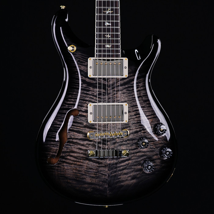 PRS McCarty 594 Semi-Hollow 10-Top Limited Edition - Charcoal Smokewrap Burst