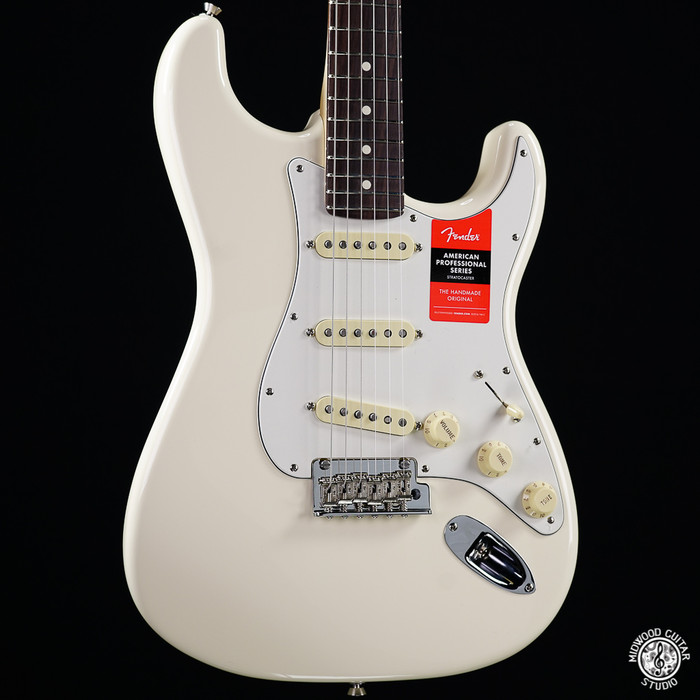 Fender American Professional Stratocaster - Olympic White