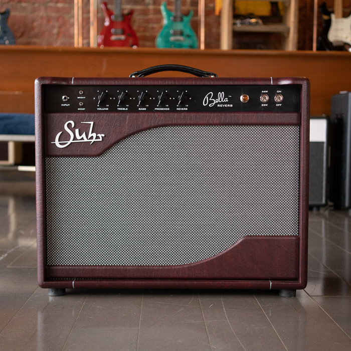 Suhr Bella Reverb 1x12 Combo - Limited Edition Wine Taurus