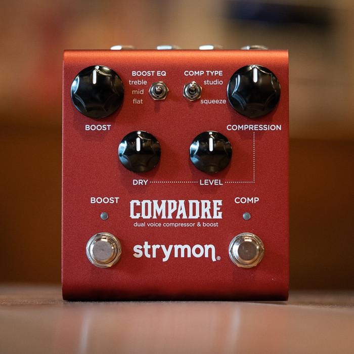 Strymon Compadre - Dual Voice Compressor & Boost