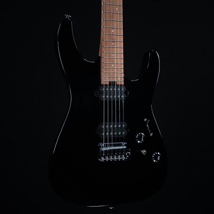 Charvel Pro-Mod DK24 HH 2PT CM - Gloss Black w/ Case