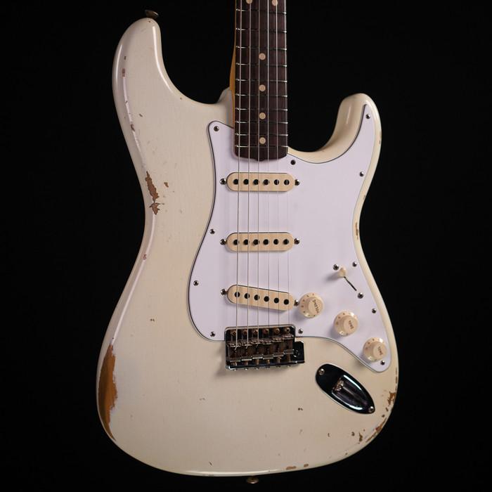 Fender Custom Shop 1963 Stratocaster Relic - Olympic White