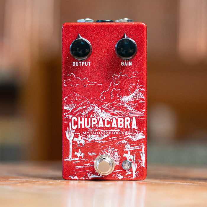 Mythos Pedals Chupacabra Overdrive Fuzz - New Graphics!