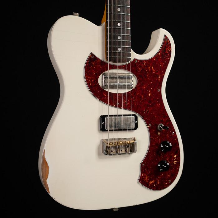 Fano Guitars TC6 Standard - Olympic White w/ Medium Distress