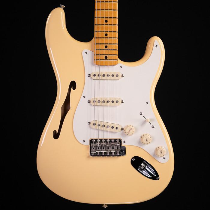 Fender Eric Johnson Thinline Stratocaster - Vintage White - Used