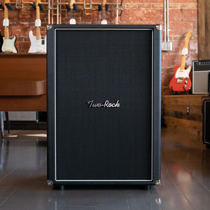 Two-Rock 2x12 Vertical Speaker Cab - Black Bronco - Pre-Order