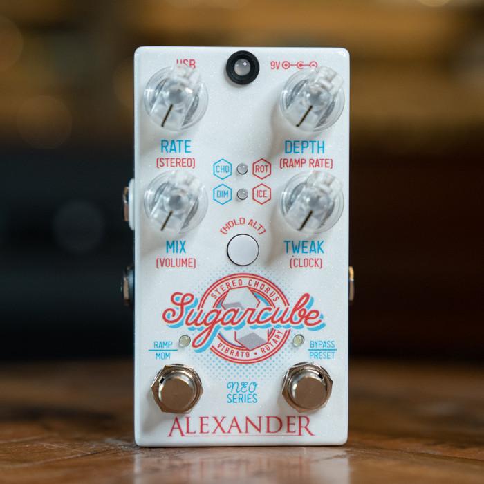 Alexander Pedals Sugarcube Chorus/Vibrato Pedal