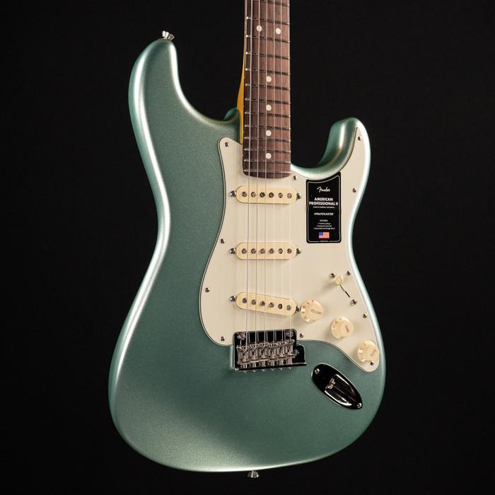 Fender American Professional II Stratocaster - Mystic Surf Green