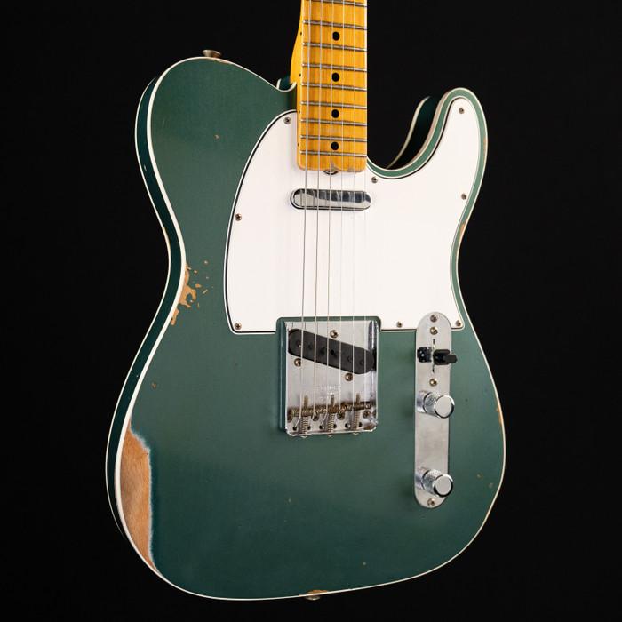 Fender Custom Shop Limited Edition '65 Telecaster Custom Maple Relic - Faded Sherwood Green - 2019