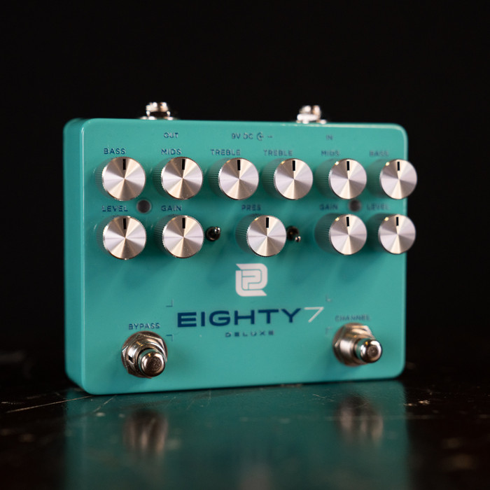 LPD Pedals Eighty7 Deluxe Dual Channel Overdrive/Distortion Pedal