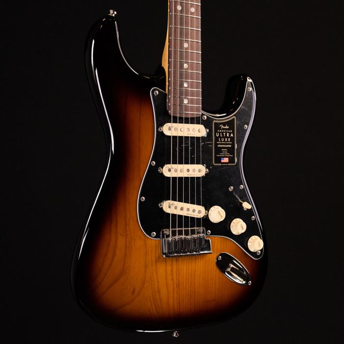 Fender American Ultra Luxe Stratocaster - 2-Color Sunburst